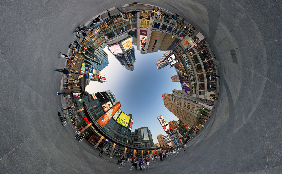 the-city-360-shot
