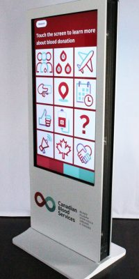 Interactive kiosks / Data capture