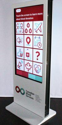 Interactive kiosks / Data capture